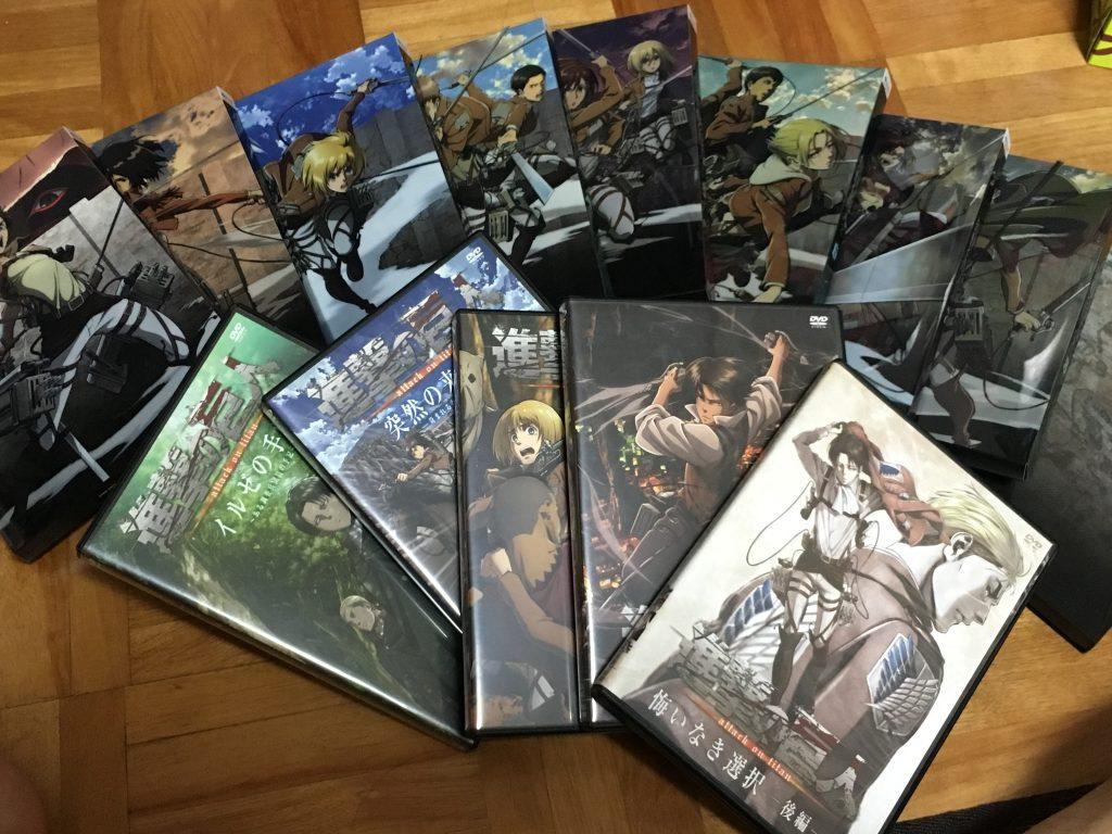 進撃の巨人 DVD全部(・∀・)b