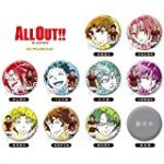 ALL out!! 3話 動画